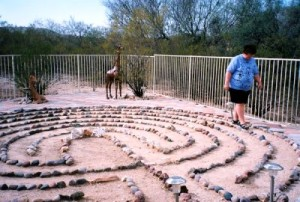 """Walking a Holy Path"" Our lives are a sacred journey, where we encounter joy, sorrow, growth defeat, grief and celebration. Walking the labyrinth is a meditatitive too, a prayer tool, to help us focus and encounter the presence of the sacred in our lives."